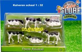 6 calves KG571974. Kids Globe Scale 1:32