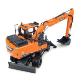 Doosan DX140W mobile crane Universal Hobbies UH8108 Scale 1:50