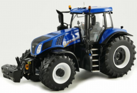 NH T8.435 tractor Blue from MM.MM1704 TR. Scale 1:32