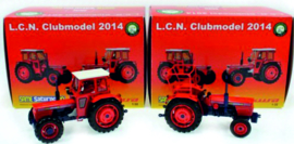 Same Saturno 80, 2 and 4WD as set L.C.N. Club model 2014 751 pcs