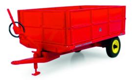 Massey Ferguson 3,5 ton Kanteltrailer met hoge schotten UH6242 .