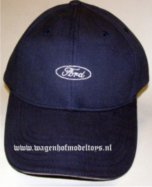Ford Cap small logo with white sandwich edge in peak