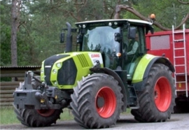 Claas 650 Arion tractor Wi171334 Wiking (Claas edition Scale 1:32