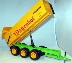 Joskin 3 axle dump truck Scale 1:32