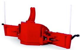 Tractor Veiligheidsbumper met gewicht in Massey Ferguson Rood UH6250 . 1:32