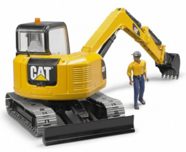 Cat midi crawler crane with workman Bruder BRU02466 Scale 1:16