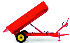 Massey Ferguson 21 3.5 ton tilt trailer with low bulkheads UH6241.