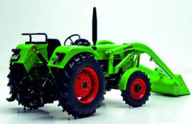 Deutz D 5206A met voorlader Weise Toys W1072.