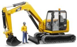 Cat midi crawler crane with workman Bruder BRU02466 Scale 1:16