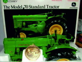 John Deere model 70 standard Precision no 23 ERTL 15366 1:16