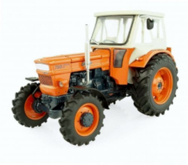 Fiat 750 DT tractor + Fritsmeier cabine. UH5296 Schaal 1:32
