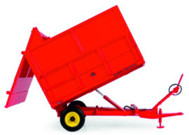 Massey Ferguson 3.5 ton Tilt trailer with silage superstructure UH6243