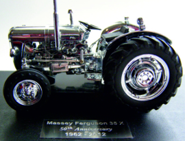 Massey Ferguson 35X in silver 50th Anniversary 1962-2012 UH4114.
