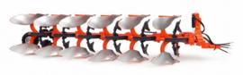 Kubota RM3005V 6 scissors reversible plow UH4932 Scale 1:32