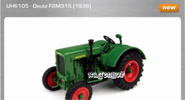Deutz F2M315 tractor UH6105 Universal Hobbies Scale 1:43