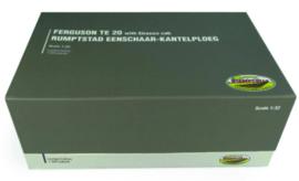 Ferguson TE 20 met Rumpstad 1 schaar kantelploeg UH5364 1:32