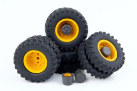 Mitas dual tyre set. AT3200103 Schaal 1:32