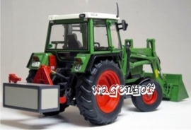 Fendt 306LS + front loader 1984/89 W1024 Weise-Toys Scale 1:32