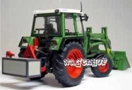 Fendt 306LS + voorlader 1984/89  W1024   Weise-Toys Schaal 1:32