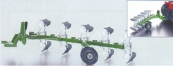 Plow 5 reversible plow scissors. Siku (blue) Scale 1:32