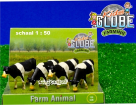 Dairy cows (set of 4). - KG571967. - Kids Globe Scale 1:50