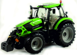 Deutz 6165 TTV tractor Warrior Green Weise-Toys W1074