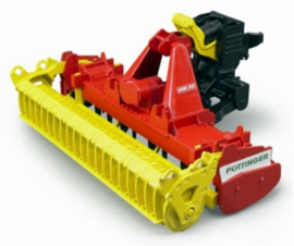 Pöttinger Lion 3002 rotary harrow BRU02346 Scale 1:16