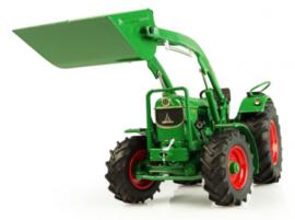 Deutz-Fahr D6005 4WD met voorlader en bak UH 5307 schaal1:32