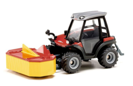 Aebi Terra Trac TT211 slope mower from Siku. Si3068 in the scale 1:32
