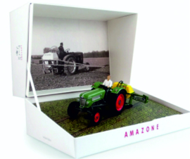 Fendt Farmer 2 met Amazone 300S spuitmachine UH6201.