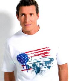 T shirt wit subli volwassenen - XP500