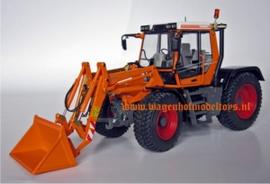Fendt Xylon 524 Kommunal met voorlader  W1106 Weise-Toys Schaal 1:32