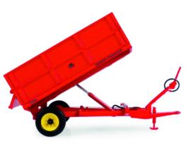 Massey Ferguson 3.5 ton Tilt trailer with high bulkheads UH6242.