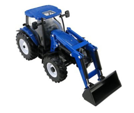 NH T6.180 with front loader. Britains. BR43148A1 Scale 1:32