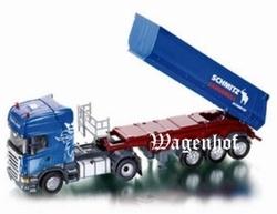Scania Topline with Schmitz Cargobull trailer Blue. Si6725 Scale 1:32