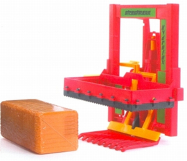 Silo block cutter with two hay blocks Bruder BRU02333 Scale 1:16