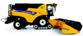New Holland CR10.90 combine on tracks UH6218.
