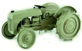 Ford 2N with Ferguson System precision model No 2 ERTL354.