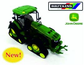 John Deere 8RX 410 tractor op rupsen Britains 43249
