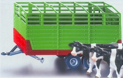 Livestock trailer with 2 animals Si2875 Scale 1:32