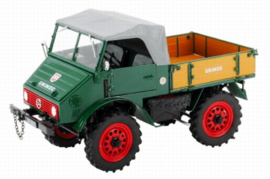 Unimog 401 + soft top and loading tray Schuco limmEdition 1000st Scale 1:18