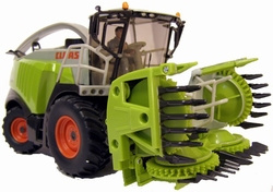 Claas 960 Jaguar forage harvester. Siku. Si4058. Scale 1:32