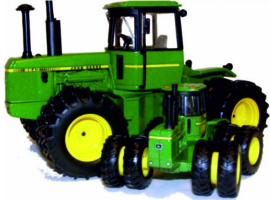 John Deere 8640 Plow City 2008 ERTL16174 Scale 1:32