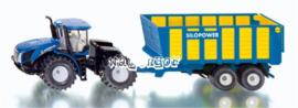 New Holland T9.560 with silage wagon Si1947 Siku Scale 1:50