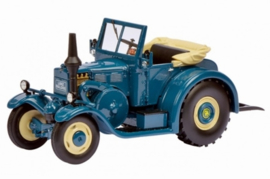 Lanz Eilbulldog convertible (blue). SC1286. - Schuco 777 pieces Scale 1:18