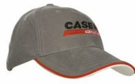 Case IH Agriculture Cap Gray Sandwich rim red / white red I.