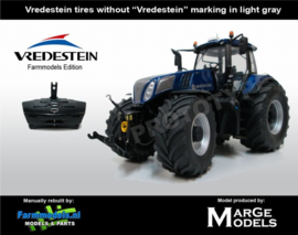 New Holland T8.435 Blue Power MM1708 VR. Schaal 1:32