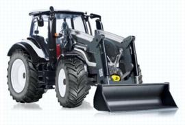 Valtra T174 tractor + voorlader met bak  Wi77815 Wiking
