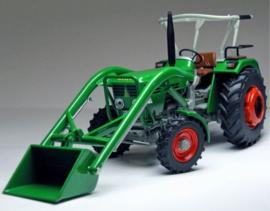 Deutz D4506 A tractor met voorlader W1050  Weise-Toys. Schaal 1:32