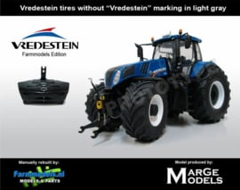 New Holland T8.435 tractor. MM1707 VR. Schaal 1:32